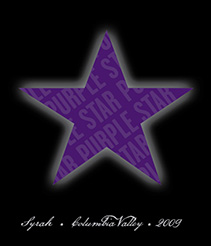 2009 Purple Star Syrah label